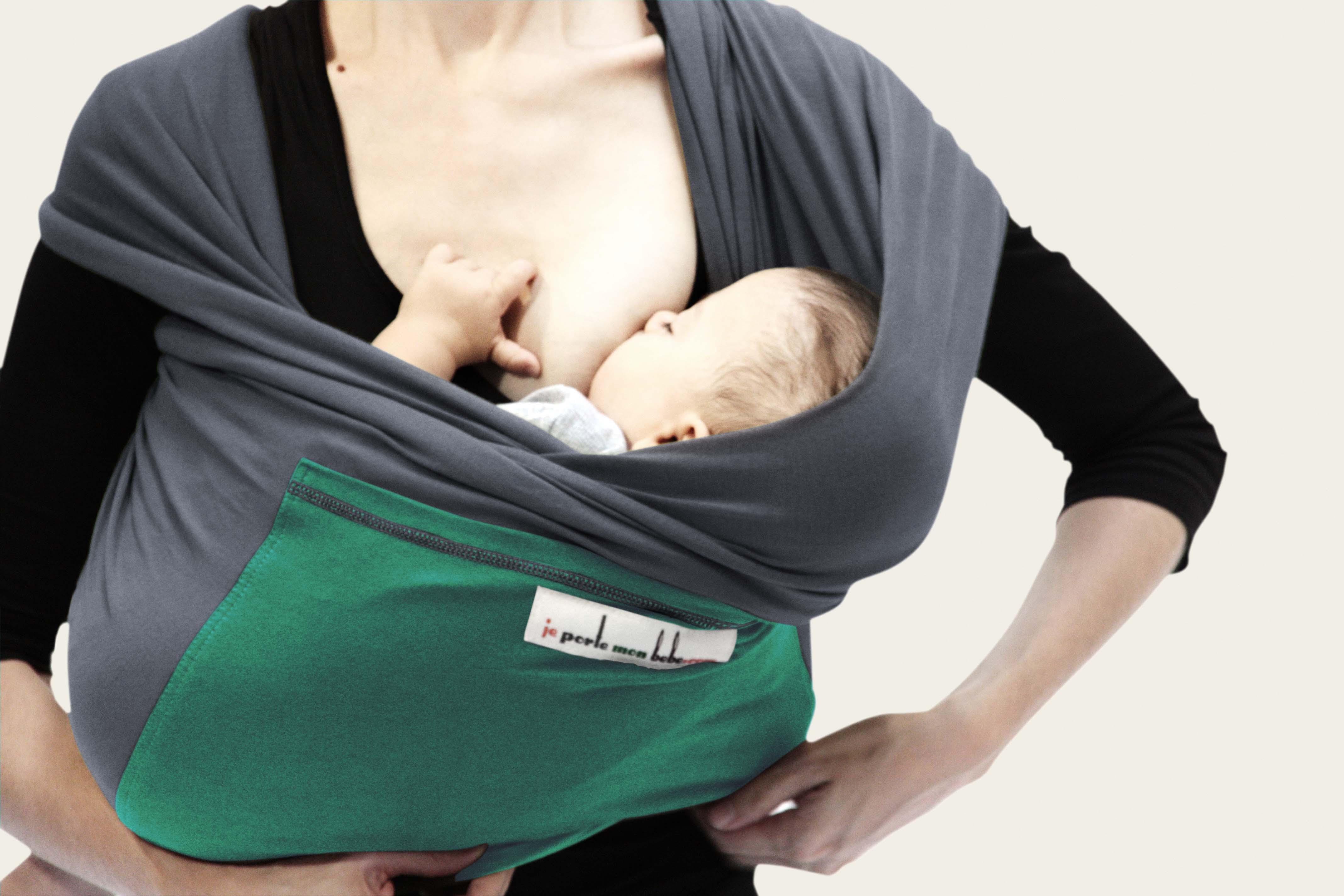 e8de25f46c26 Je Porte Mon Bebe (JPMBB) Original Stretchy Wrap - The Baby Sling ...