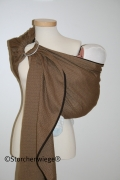Storchenwiege Ring Sling Leo Cafe