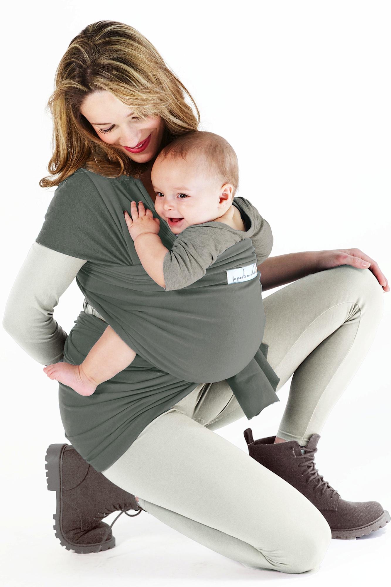 je porte mon bebe basic jpmbb basic green