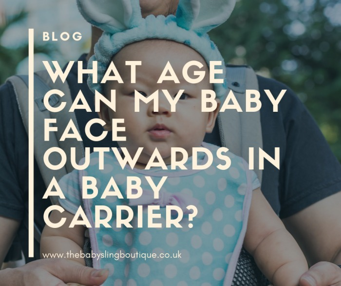 baby sling age