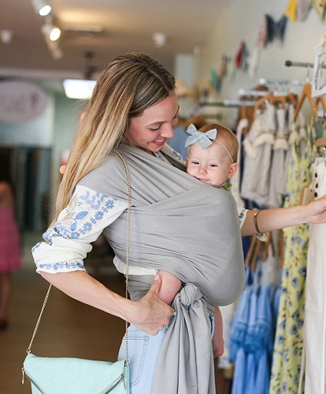 Boba Wrap Bamboo The Baby Sling Boutique