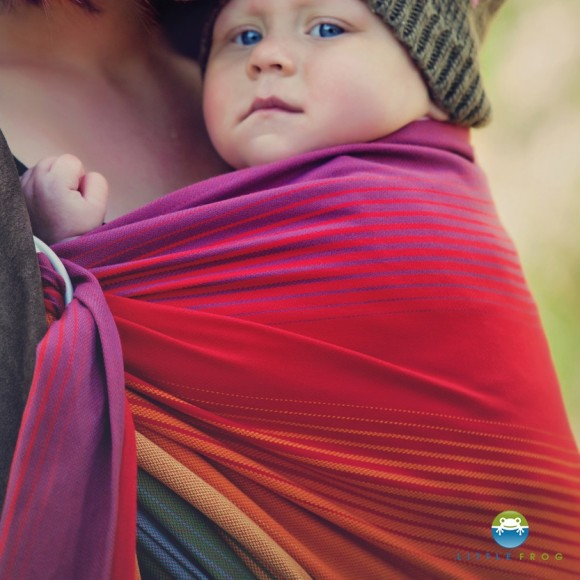 7647f6363bf Little Frog Ring Sling - Ammolite In Love - The Baby Sling Boutique