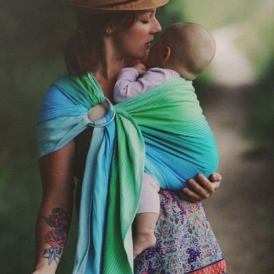 Little Frog Ring Sling - Marine Bazzite