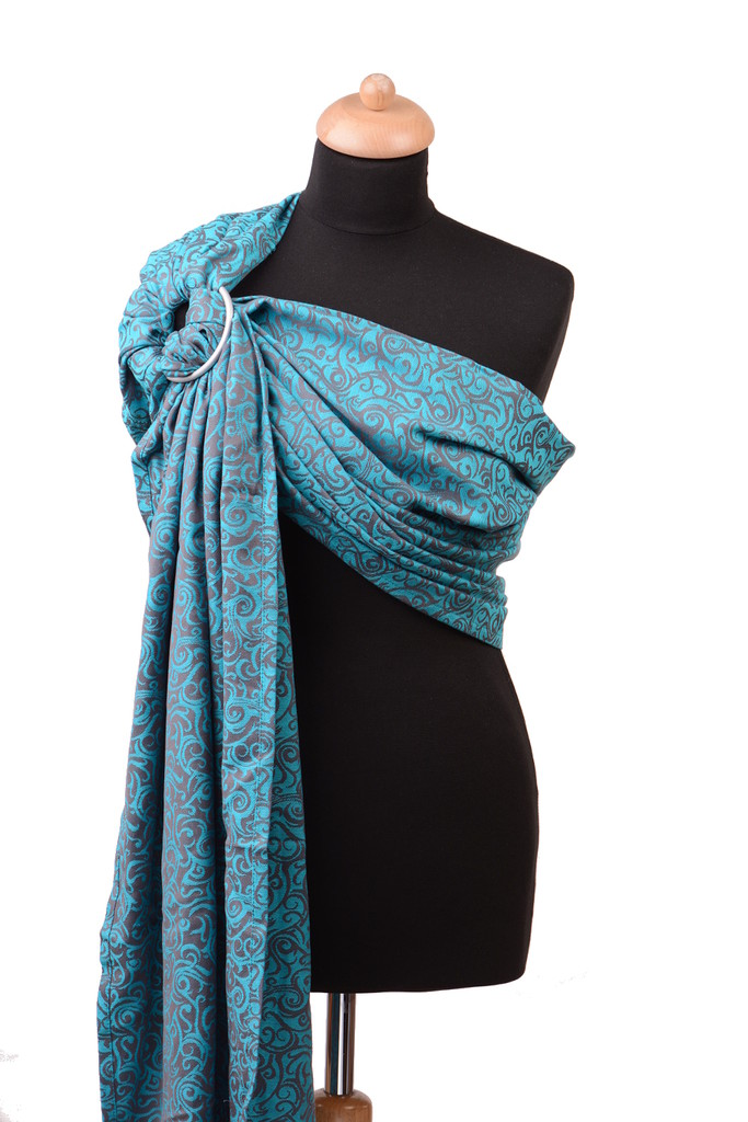 Huckepack Tendril Turquoise Ring Sling